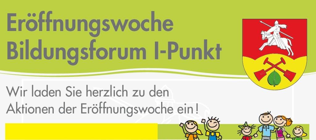 Eröffnung Bildungsforum