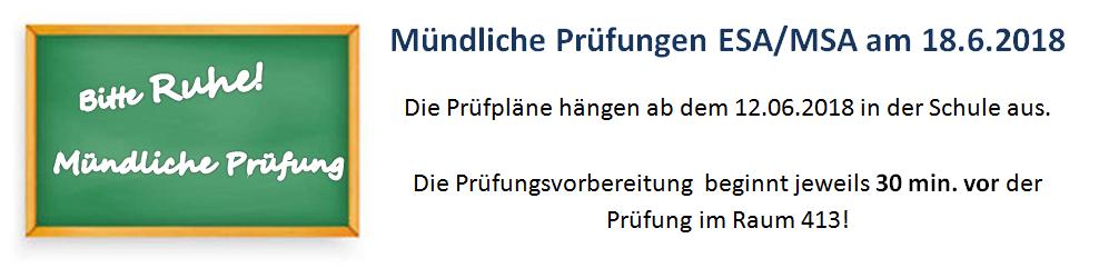 Mündliche Prüfung (Homepage)