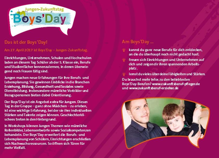 Infos BoysDay