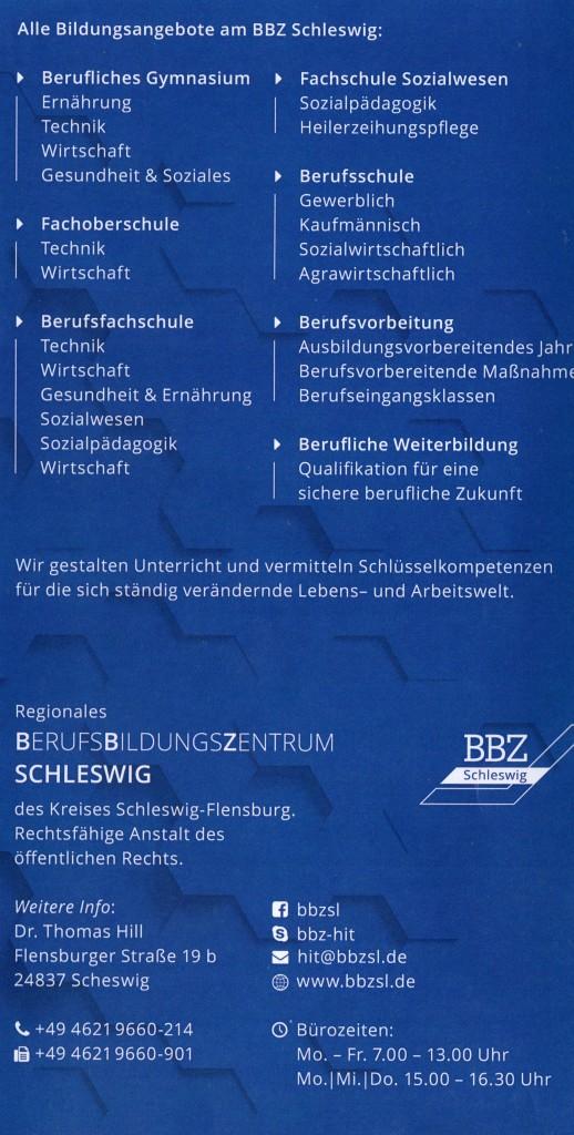 Tag der beruflichen Bildung BBZ (Kontaktdaten)