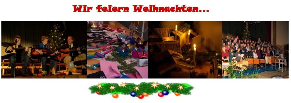 Wir feiern Weihnachten