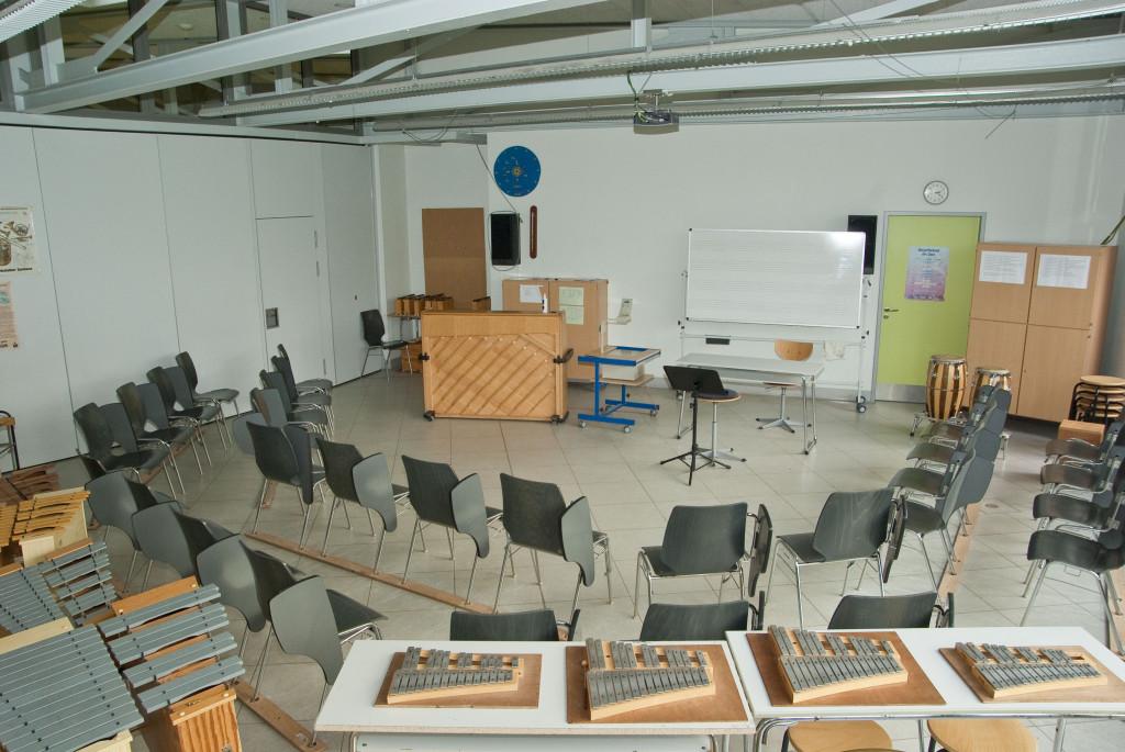 Fachraum Musik Neubau 1