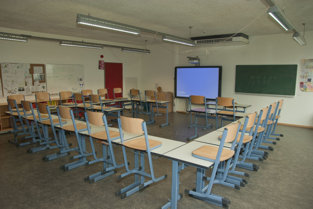 Klassenraum Neubau